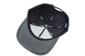 Custom 5 Panels PU Embroidery Snapback 3D Caps and Hats Manufacturer pictures & photos