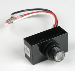 Raintight Photocontrol Button Control for Outdoor Lighting pictures & photos
