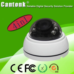 Hot Sale 4 in One (Ahd/Cvi/Tvi/Cvbs) 1.3MP Plastic CCTV Video HD Camera (KD-TD20) pictures & photos