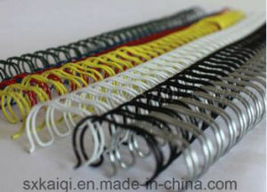 3: 1 Metal Twin Ring Wire for Book Binding pictures & photos