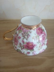 European French Romantic Ritzy Royal Ceramic Porcelain Coffee Cup pictures & photos