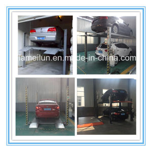 Four Post High Quality Automobile Lifts pictures & photos