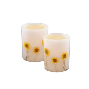 Sun Flower Flameless Electronic LED Candle for Decoration pictures & photos