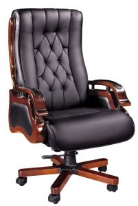 Solid Wood Arms Conference Meeting Visitor Boardroom Chair (HX-7032) pictures & photos