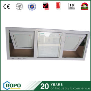 UPVC Triple Pane Windows with Built in Blinds China pictures & photos