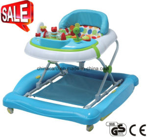 2017 New Model Foldable Plastic Baby Walker With Toys (CA-BW201) pictures & photos