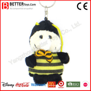 Key Rings Cheap Stuffed Animal Plush Toy Soft Bee Keychain pictures & photos