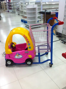 High Quality Children Toy Car Trolley for Shopping Mart pictures & photos