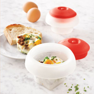 Microwave Ovo Poacher Egg Molds pictures & photos