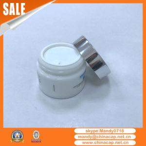 Custom Luxury Special Shape Glass Jar Aluminum Cap pictures & photos