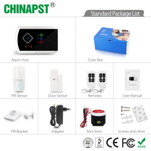 APP 99 Wireless Zones GSM Anti-Thief Security Alarm System (PST-G10A) pictures & photos