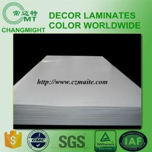 Flat Plain White High Pressure Laminate pictures & photos