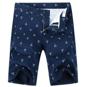 Custom Men′s Print Cotton Bermuda Casual Short Shorts pictures & photos