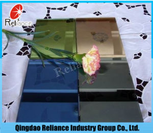 6mm Dark Blue Reflective Glass/Window Glass/Building Glass with ISO Cercificate pictures & photos