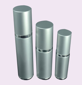 Cosmetic Aluminum Airless Bottle for Lotion pictures & photos