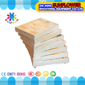 Children Wooden Desktop Toys Developmental Toys Building Blocks Wooden Puzzle