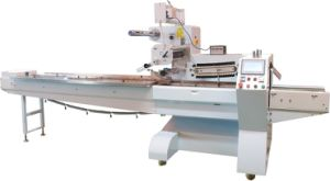 Servo Motor Flow Packing Machine for Breads