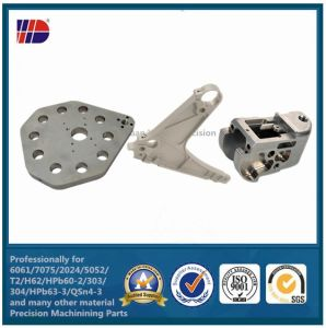 3-Axis Aluminum 6061 Machining CNC Machined Parts pictures & photos