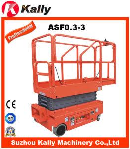 Scissor Work Platform Aerial Work Platform with Ce Certificate (ASF0.3-3.0)