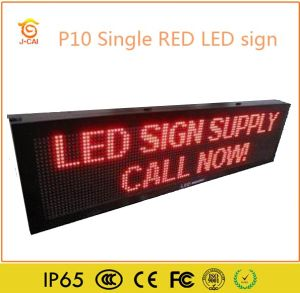 P10 Digital Advertising Double Sided Outdoor LED Open Sign pictures & photos