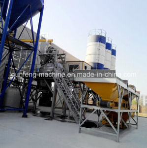 HZS Series Concrete Mixing Plant (HZS(25-200)) pictures & photos