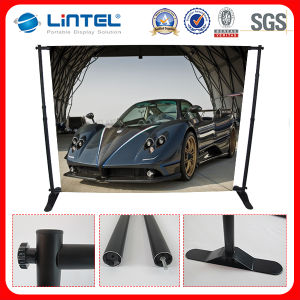 Large Pop up Wall Telescopic Backdrop Banner Stand (LT-21) pictures & photos