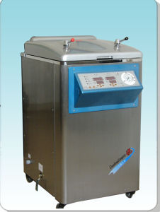 Stainless Steel Medical Vertical Pressure Steam Sterilizer Autoclave pictures & photos