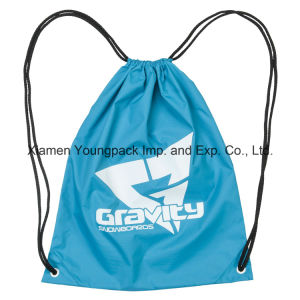 Cheap Promotional Custom Kids Nylon Drawstring Cinch Backpack Bag pictures & photos