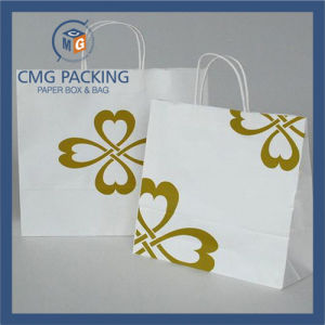 Custom Made Logo Printed Brand Paper Gift Bag for Shopping Wholesale (DM-GPBB-011) pictures & photos