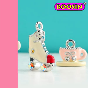 Metal Colorful Roller Skates Charm / Trendy Speed Boot Charms pictures & photos