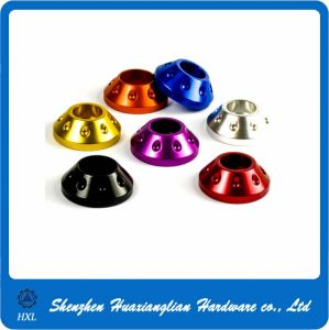 High Precise Colorful Aluminum Cone Washer pictures & photos