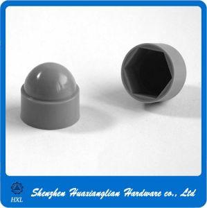 Plastic Nylon Grey Color Hexagon Bolt Nut Cap pictures & photos