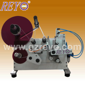 Simple Design Cheaper Semi-Automatic Round Labeling Machine