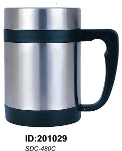 Sdc-480 18/8 Stainless Steel Double Walled Mug Sdc-480 pictures & photos