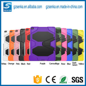 PC Silicone Protective Case for iPad Air 2 Tablet Case pictures & photos