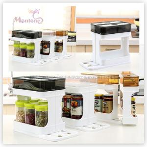 Plastic Kitchen Storage Spice Organizer Spice Rack pictures & photos