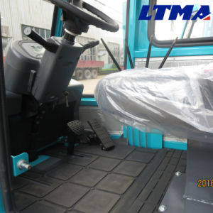 Mini 3t Electric Side Loader Forklift Price pictures & photos