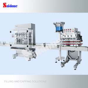 Automatic Filling and Capping Line pictures & photos