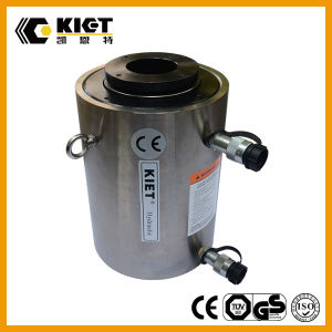CE&ISO Approved Double Acting Hollow Hydraulic Cylinder pictures & photos