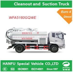 Utility Cleanout and Suction Truck 4X2