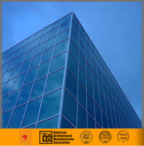 Hidden and Exposed Frame Glass Curtain Wall (Professional Design) pictures & photos
