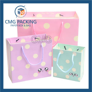 Manufacturer High Quality Kraft Paper Shopping Handbag Bag (DM-GPBB-181) pictures & photos