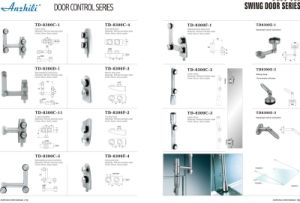Stainless Steel Sliding Door Accessory Td-8300c-2 pictures & photos
