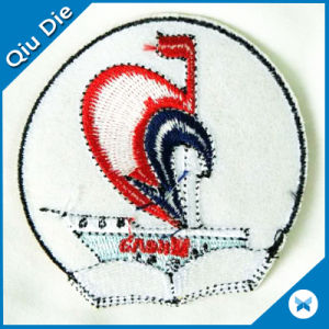 Woven Badge Customized Cheap Woven Patch and Badge pictures & photos