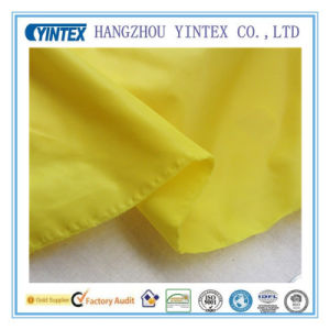 High Quality Knitting Soft Water Proof Fabric, Yellow pictures & photos