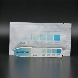 Home Breast Milk/Urine/Saliva Alcohol Test Strip pictures & photos
