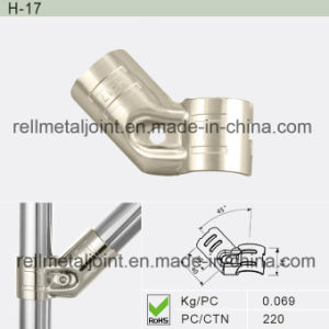 Nickel Plated Metal Joint for for Industrial Shelf (H-17) pictures & photos