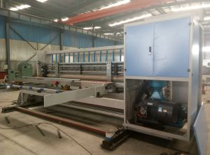 7 Series 4-Color Flexo Printing Slotting Die Cutter pictures & photos