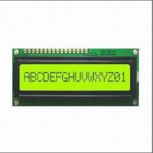 LCM16*1 with Yellow-Green LED Backlight, Stn pictures & photos