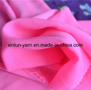 Lady Silk Floral Printed Chiffon Fabric for Blouse pictures & photos